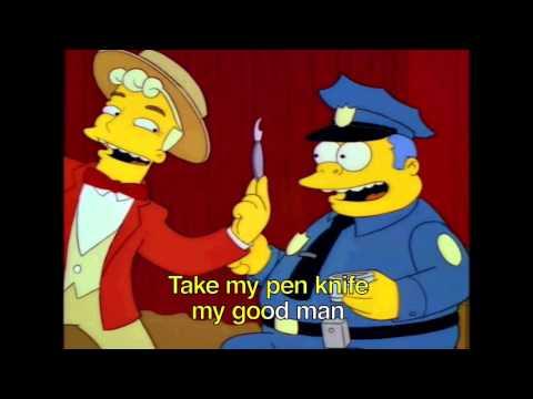 The Simpsons Karaoke - Monorail