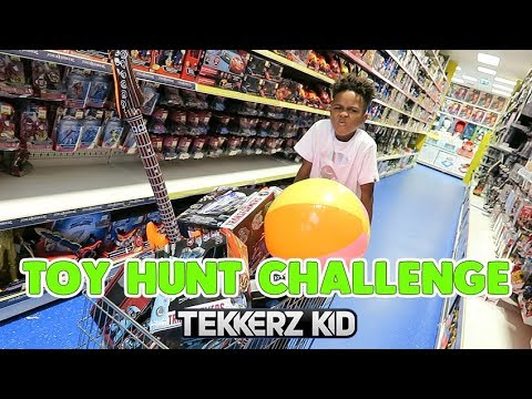 TOY HUNT CHALLENGE!! - We Had The Whole Store to Ourselves!