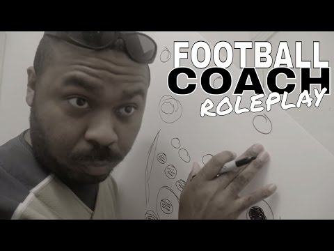 🏈 [ASMR] Football Coach Roleplay SPORTS Pep Talk, Motivational Speech & Marker Sounds (Soft Spoken)