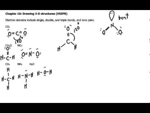 drawing lewis dot diagram 1981 jeep cj7 wiring 3 d structures vsepr) - youtube