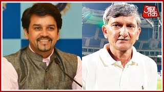 Thakur Becomes BCCI President, Shirke Is Secretary