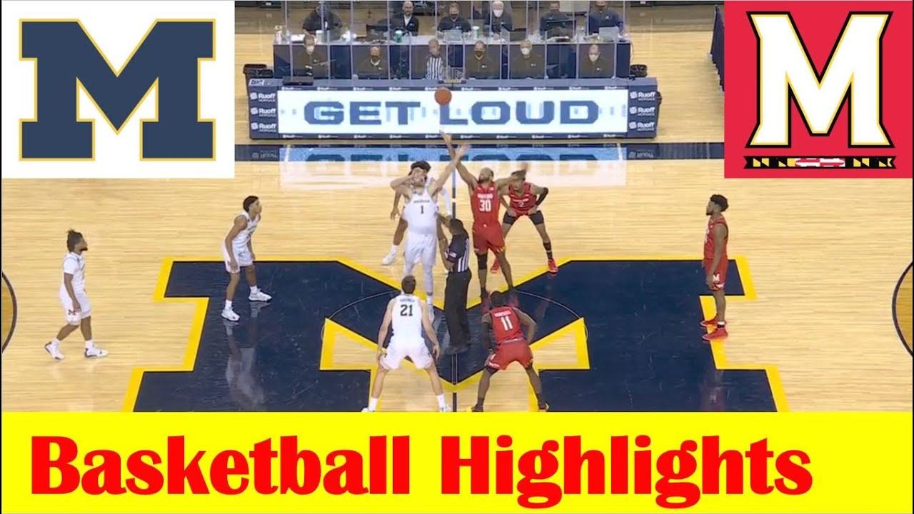 Download Maryland vs Michigan Basketball Game Highlights 1 19 2021