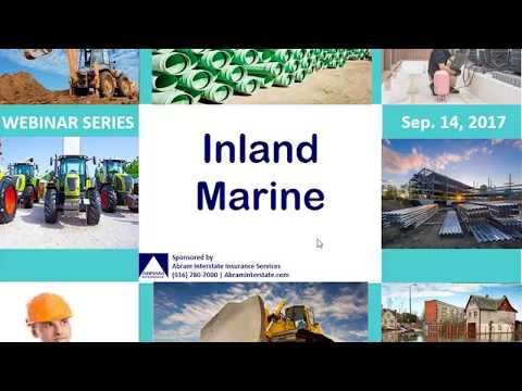 Inland Marine Webinar