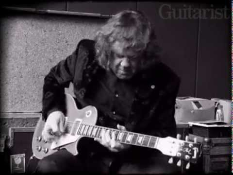 Gary Moore playing for the last time - Guitarist Magazine
