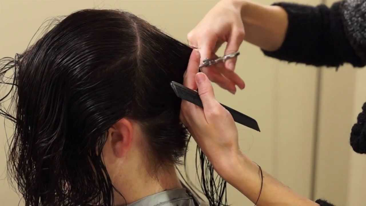 Shattered a line hairstyles how to cut an a line hair shattered a line hairstyles how to cut an a line hair tutorial youtube urmus Gallery