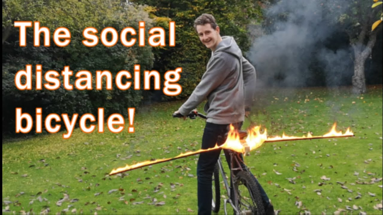 The Social Distancing bike!