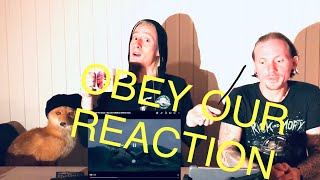 Bring Me The Horizon - Obey // REACTION VIDEO