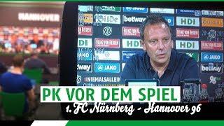 PK vor dem Spiel | 1. FC Nürnberg - Hannover 96