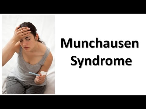 munchausen syndrome Munchausen syndrome is a mental disorder in which the patient fakes illness to gain attention and sympathy this can result in doctors providing unnecessary treatment, including surgery.