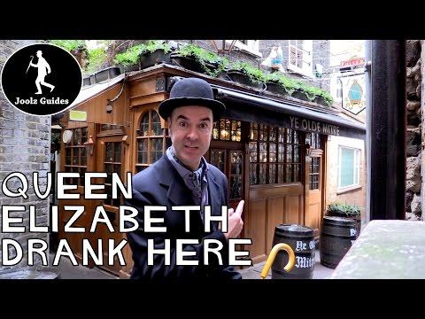 Ye Olde Mitre Pub - Where Queen Elizabeth drank - London
