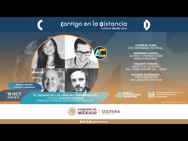 Festival Internacional Cervantino 2020: Challenges of converging languages