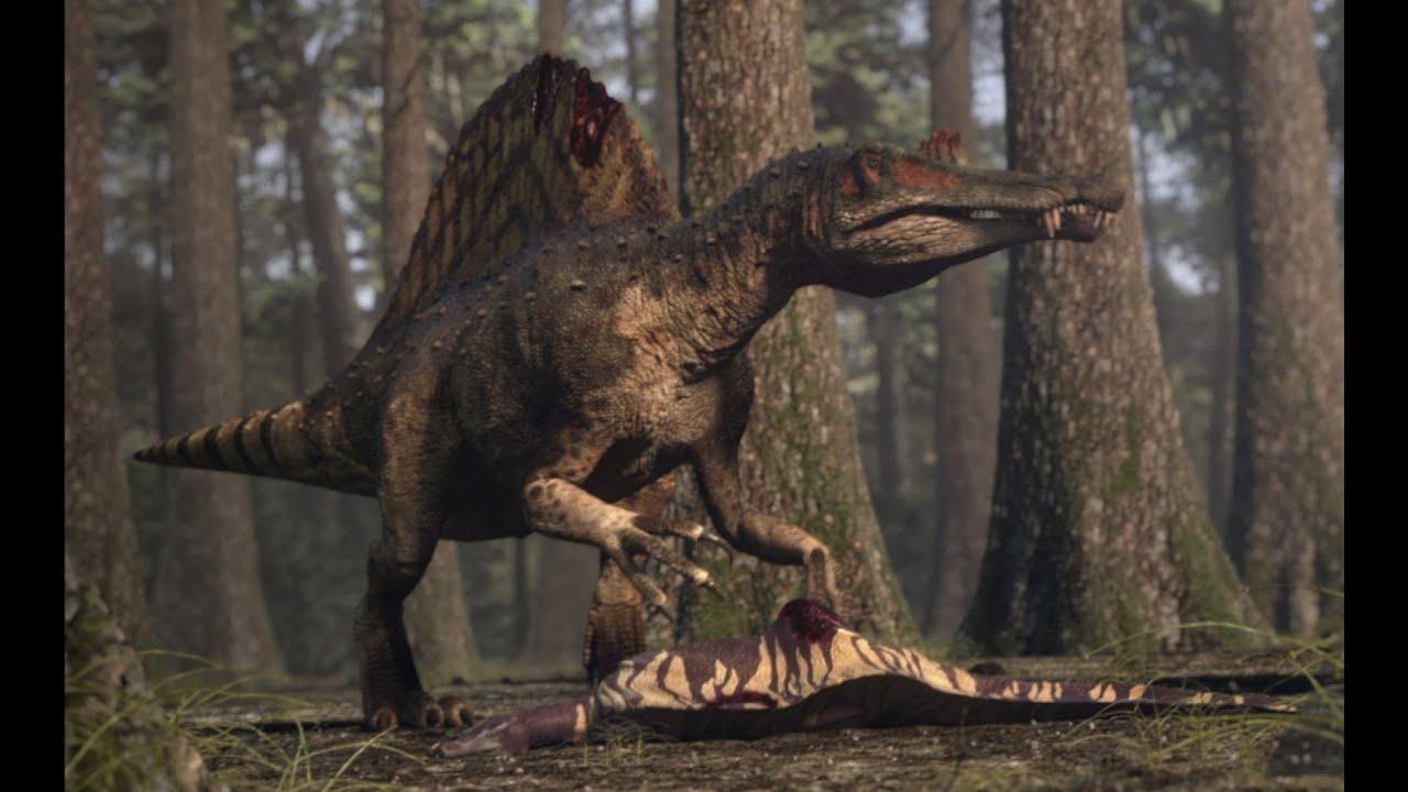 Man Vs Wild Wallpaper 3d Spinosaurus Vs Carcharodontosaurus The Balance Of Power