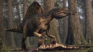 Video Spinosaurus vs Carcharodontosaurus | The balance of power  | Planet Dinosaur | BBC download MP3, 3GP, MP4, WEBM, AVI, FLV Juni 2018