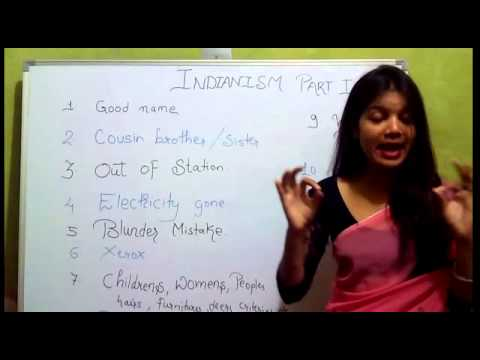 Indianism And Correct English By Parul Arya Youtube
