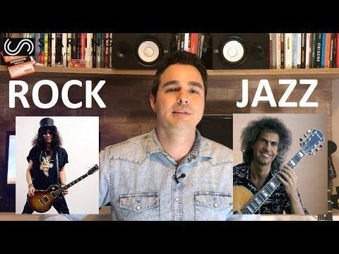Diferenças entre músicos de rock e jazz