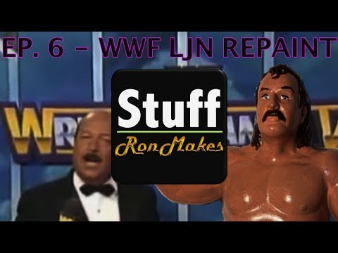 Custom LJN Wrestling Figure   Stuff Ron Makes