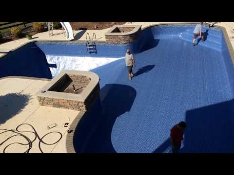 Tara Liners: Pool Liner Installation Time Lapse