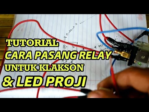 Tutorial how to install light relay, correct horn - kang one on