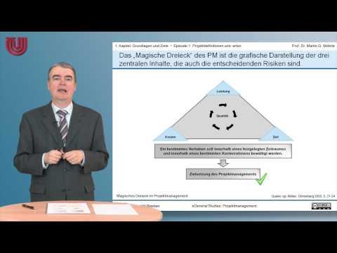 Teil 1: Projektdefinition Und Arten [ Projektmanagement 1 - Grundlagen Und Ziele]