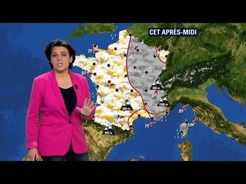 Météo France place 11 départements en vigilance orange