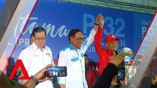 Mahathir urges Port Dickson voters to back Anwar Ibrahim