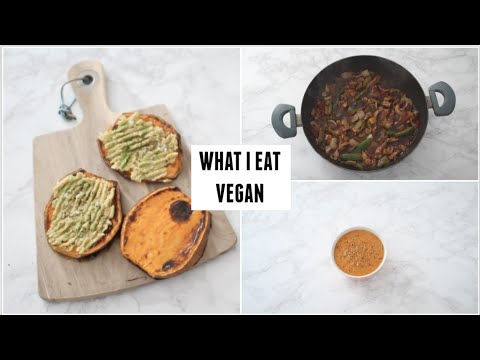 WHAT I EAT IN A DAY #8 VEGAN