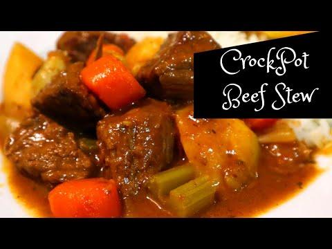 Beef Stew - Crockpot Beef Stew Recipe - Carne Guisada - Kelvin's Kitchen