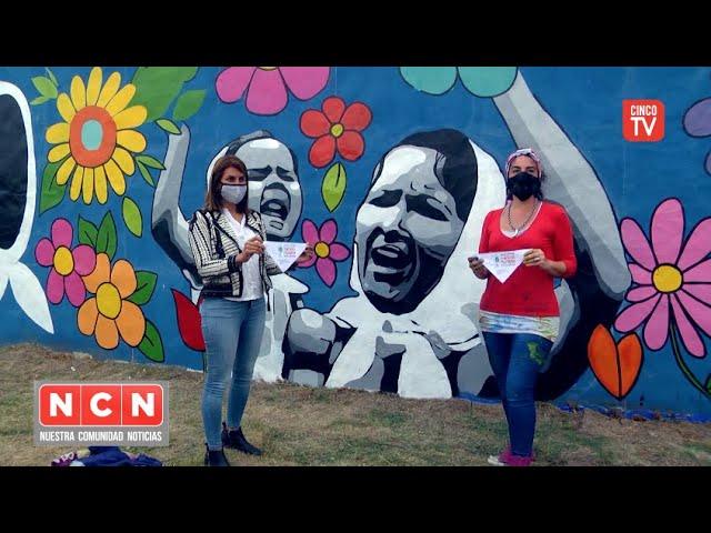 CINCO TV - El Municipio impulsó un nuevo mural participativo en El Talar
