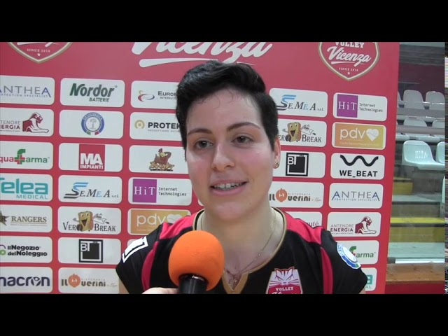 VOLLEY - AntheaVi-VolanoTN, 3-0 - intervista a Simona Marini
