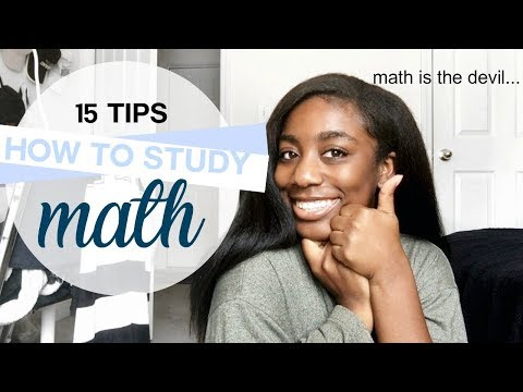 how to study math