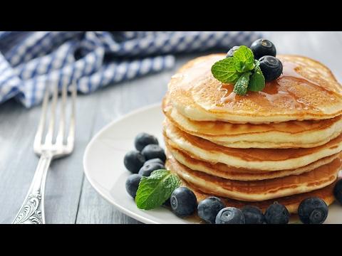recette pancakes healthy facile et rapide youtube. Black Bedroom Furniture Sets. Home Design Ideas