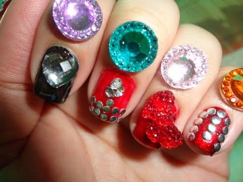 Product Review: BPS.com's 3D Japanese Nail Art Accessories And Tutorial