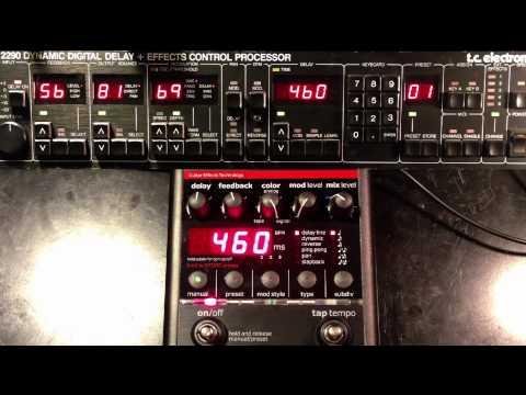 TC Electronic 2290 vs Nova Delay ND-1