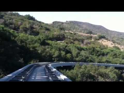 Getty center monorail