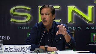 Sotto tells 'no-el' proponents to explain such initiative
