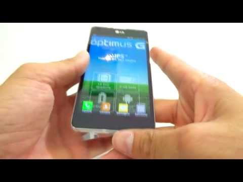 Unboxing LG OPTIMUS G E977 | O Superphone da LG