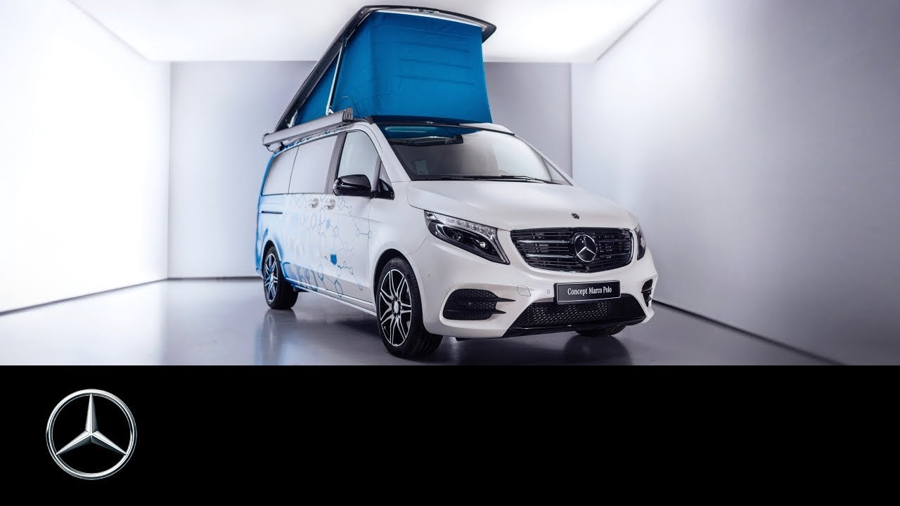 Mercedes-Benz Concept Marco Polo: Camper van of the future - YouTube