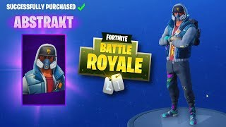 FORTNITE DAILY SKIN RESET - NEW ABSTRAKT SKIN!! Fortnite Battle Royale NEW Items in Item Shop