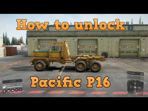 SnowRunner - How to unlock Pacific P16 | Location!