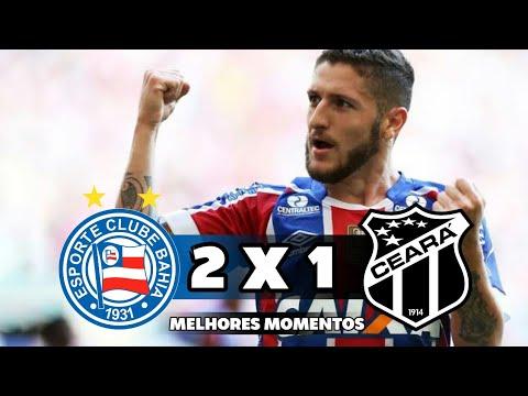 Bahia 2 x 1 Ceará - Melhores Momentos - Campeonato Brasileiro 2018 14/11/18