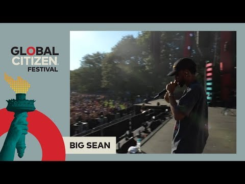 Big Sean Performs 'One Man Can Change the World' | Global Citizen Festival NYC 2017