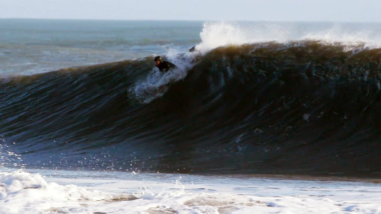 Scoring Epic Surf in Cape Hatteras