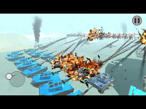 Imut Tapi Ganas - 65 Drones VS 30 TE-101- Army Battle Simulator  - Indonesia Gameplay