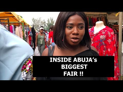 COME THRIFT SHOPPING WITH ME AT CITY PARK ABUJA TRADE FAIR