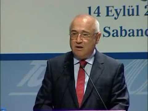 TBMM Başkanı Cemil Çiçek'in TÜSİAD Toplantısı Konuşması - 14 Eylül 2012