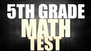 iq test questions and answer - Can You Pass 5th Grade Math   90% Fail