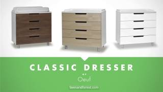 Oeuf Classic Four Drawer Dresser - Chekcout The Classic Dresser At Fawnandforest.com