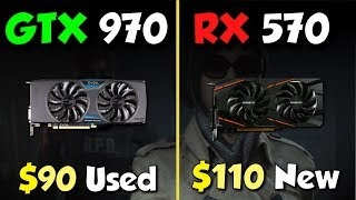 Скачать RX 570 Vs GTX 970 The Best GPU Deal
