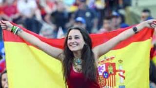 جميلات المشجعات الإسبانيات في مونديال البرازيل 2014