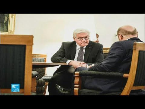 شولتز ورئيس ألمانيا يجتمعان لحل أزمة تشكيل الحكومة الحالية  - نشر قبل 41 دقيقة